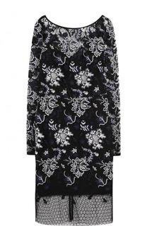 Приталенное кружевное мини-платье Diane Von Furstenberg