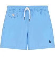 Шорты с логотипом бренда Polo Ralph Lauren
