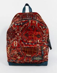 Бархатный рюкзак ограниченной серии с ковровым принтом Eastpak x House of Hackney - Мульти