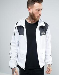Черно-белая куртка с капюшоном The North Face 1985 Mountain - Белый