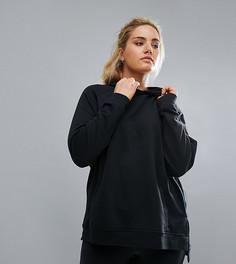 Черный худи Nike Plus Training - Черный
