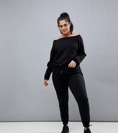 Черные спортивные брюки South Beach Plus - Черный