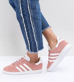 Женские розовые кроссовки adidas Originals Gazelle - Розовый