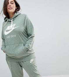 Зеленый спортивный худи Nike Plus - Зеленый