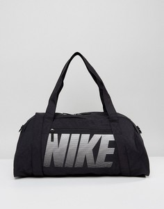 Черная сумка дафл Nike Gym Club Training - Черный