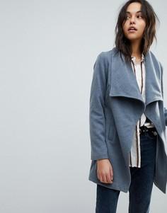 Пальто с поясом Parisian - Серый