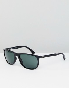 Черные матовые вайфареры Ray-Ban 0RB4291 - 58 мм - Черный