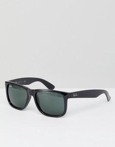 Черные вайфареры Ray-Ban 0RB4165 55 мм - Черный