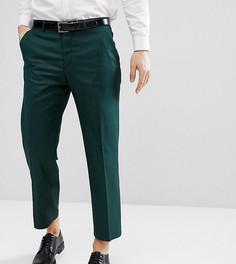 Укороченные суженные книзу брюки Heart & Dagger - Зеленый