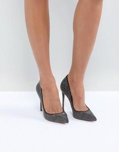Туфли с острым носком и отделкой заклепками ALDO Nirema - Черный