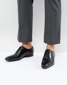 Черные кожаные оксфордские туфли Ted Baker Murain - Черный