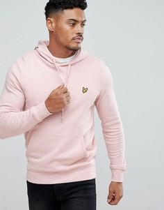 Худи розового цвета Lyle & Scott - Розовый