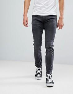 Черные выбеленные джинсы скинни Wrangler - Черный