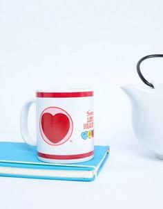 Кружка с меняющимся от тепла принтом Paladone Valentines - Мульти