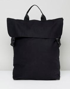 Квадратный рюкзак Weekday - Черный