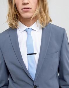 Матовый черный зажим для галстука Burton Menswear - Черный