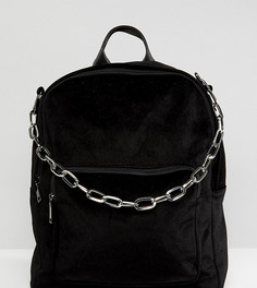 Черный рюкзак с ручкой-цепочкой Shikumi - Черный