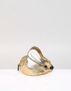 Кошелек для монет в виде мыши Essentiel Antwerp - Золотой