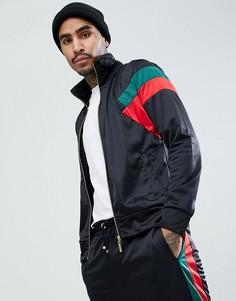 Черная обтягивающая спортивная куртка Criminal Damage - Черный