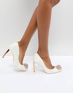 Туфли с отделкой Ted Baker Tie The Knot Peetch - Белый