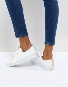 Белые кожаные кроссовки Ted Baker Kellei - Белый