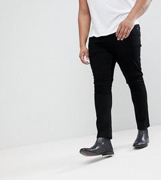 Черные джинсы скинни Noose & Monkey PLUS - Черный