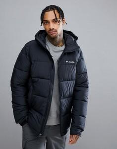 Черная дутая куртка с капюшоном Columbia Pike Lake - Черный