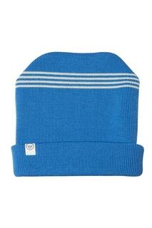 Голубая шерстяная шапка LU Kids