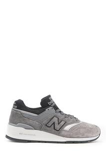 Серые замшевые кроссовки №997 New Balance