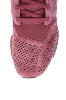 Бордовые кожаные кроссовки №574 New Balance