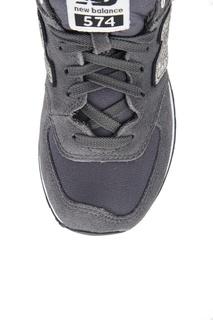 Серые кроссовки из замши №574 New Balance