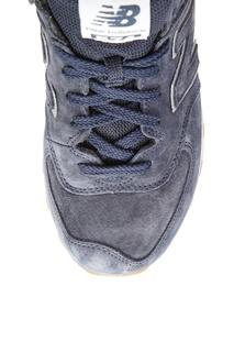 Синие замшевые кроссовки №574 New Balance