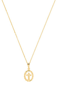 Ожерелье delicate cross - The M Jewelers NY