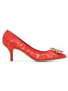 декорированные туфли Belluci  Dolce & Gabbana