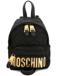мини стеганый рюкзак Moschino