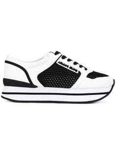 кроссовки с панельным дизайном Armani Jeans