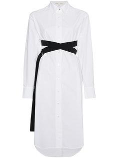 платье-рубашка с длинными рукавами PSWL Proenza Schouler