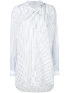 рубашка с асимметричной застежкой Balenciaga