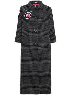 пальто с вышивкой  Miu Miu