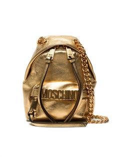 рюкзак с цепочными лямками Moschino