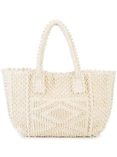 сумка-тоут с вышивкой Antonello Tedde
