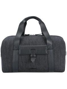 дорожная сумка с кожаными панелями Cerruti 1881