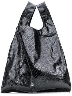 сумка-шоппер в стиле оверсайз Mm6 Maison Margiela
