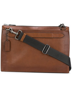 плоская сумка Manhattan Coach