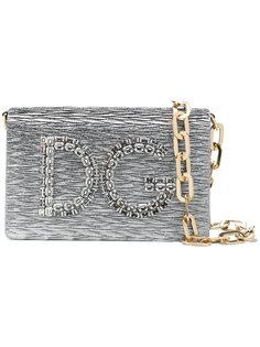 маленькая сумка на плечо с логотипом Dolce & Gabbana