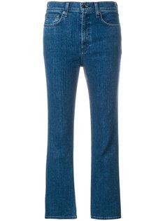 расклешенные укороченные джинсы Rag & Bone