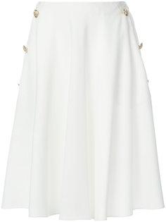А-образная юбка с пуговицами  Lanvin