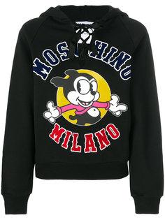 толстовка с капюшоном Mickey Milano Moschino