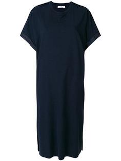 платье с рукавами летучая мышь Jil Sander