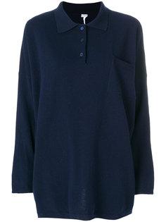 трикотажная рубашка поло Loewe